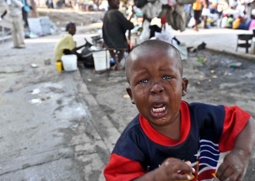 Haiti: A Land Crumbling Beneath Their Feet