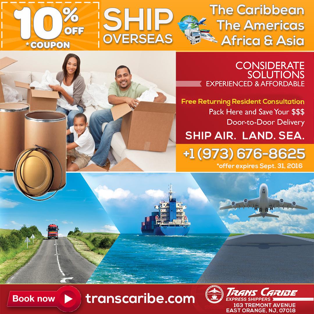 Specials - TransCaribe com - Trans Caribe Express Shippers, Inc