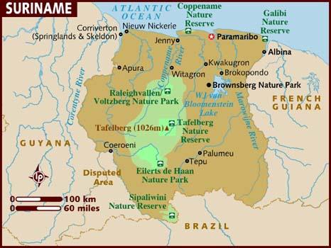 Shipping to Suriname