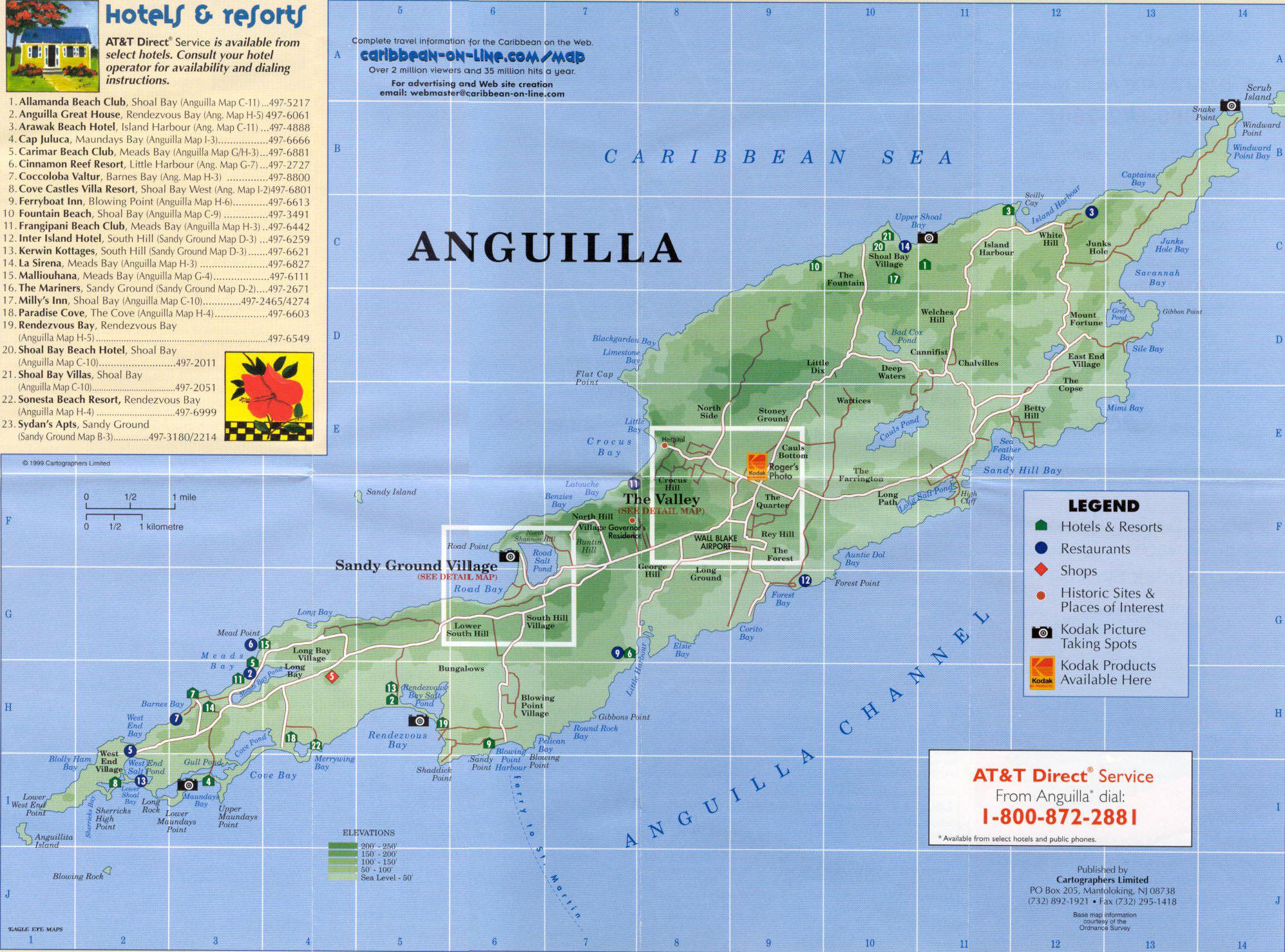 Shipping to Anguilla
