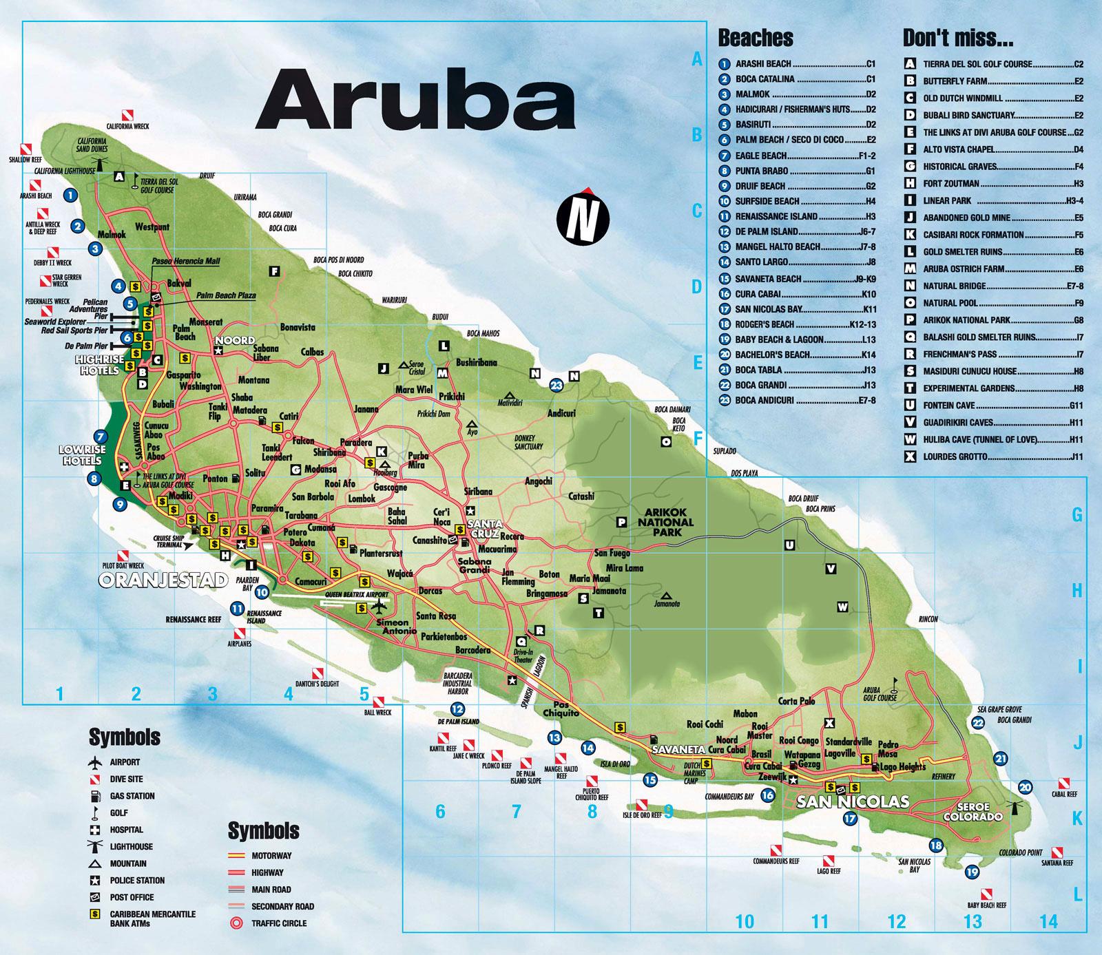 Shipping to Aruba