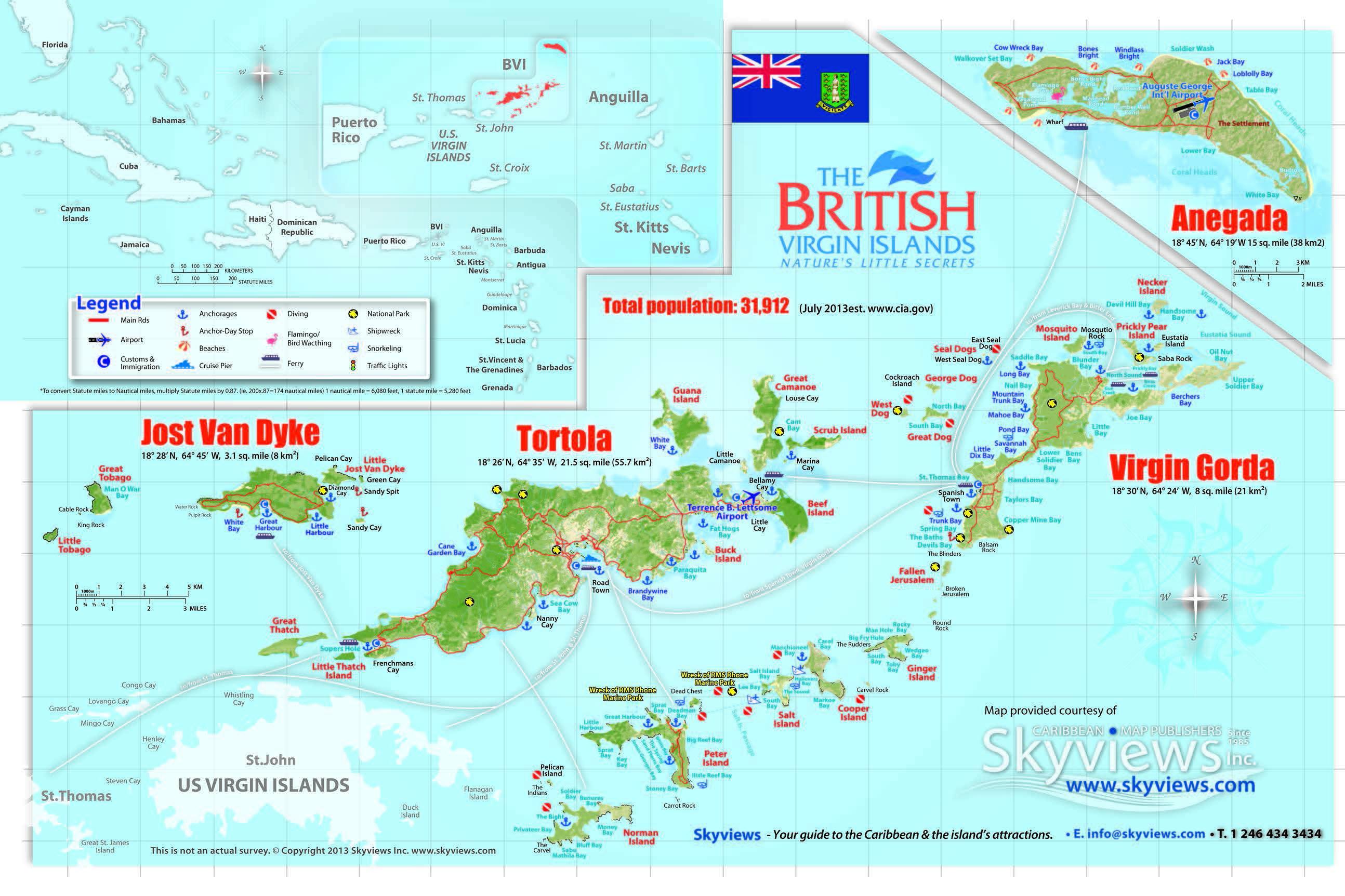 Shipping to British Virgin Islands