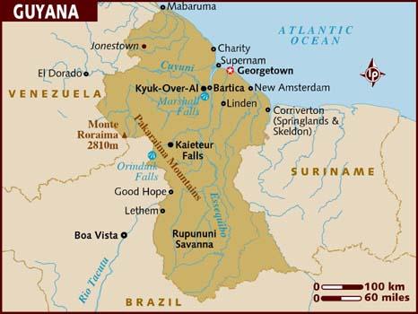 Shipping to Guyana