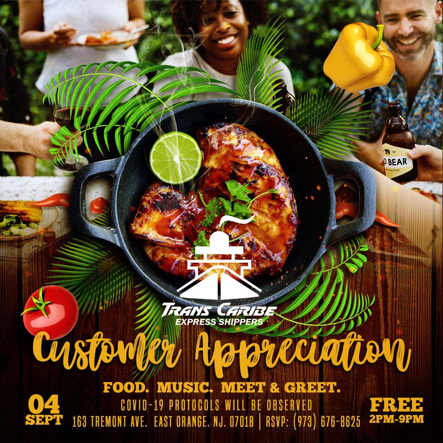 Trans Caribe Express Shippers Customer Appreciation Day Sept 4 2021